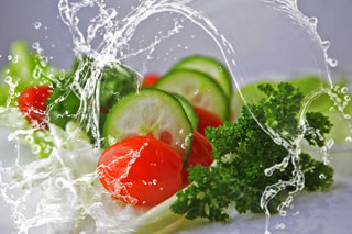 Eat foods with a high water content